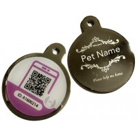Smart Metal Engraved Pet Tag