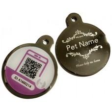 Smart Metal Engraved Pet Tag